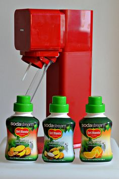 Getting the most out of a Soda Stream, smoothies and slushie ideas