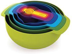 Joseph Joseph 40031 Nest 9 Plus Compact Food Preparation Set: Amazon.ca: Home & Kitchen