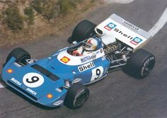 1972 GP Francji (Chris Amon) Matra MS120D