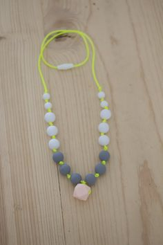 "The ""Rebecca"" Necklace in Neon"