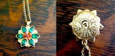 Locket a replica of the necklace anastasia wears in the animated film - Urban Chic, Anastasia Necklace, Princesa Anastasia, Anastasia Cosplay, Jewelery, Jewelry Box, Pandora, Disney Jewelry, Fantasy Jewelry