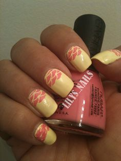 31 Day Challenge 2012: Day 03 Yellow Nails