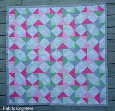 Fabric Engineer: Rotating squares