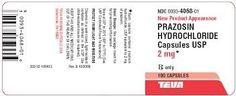 Prazosin Ischemic Heart Disease, Cardiovascular Health
