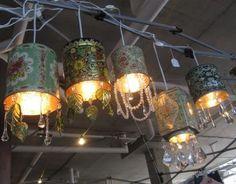 DIY Wedding Details: Tea Tin Lanterns | photography by  (via @amiatead)