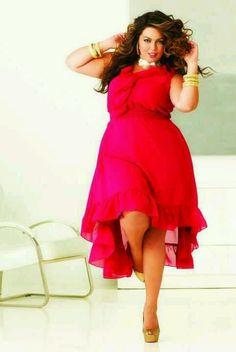 This dress makes me want to tango!! #plussize #fashion