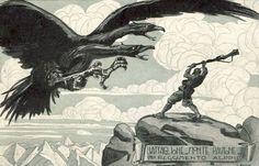 Cartolina del Battaglione Monte Pavione