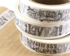 Browse unique items from kawaiigoodies on Etsy, a global marketplace of handmade, vintage and creative goods. Fun Mail, Packaging Stickers, Logo Stamp, Custom Labels, Baking Ingredients, Cookie Dough, Unique Jewelry, Handmade Gifts, Vintage