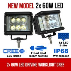 LED Driving WorkLight Flood Spot Beam CREE Lamp Light Offroad This LED Driving WorkLight have Flood Spot Beam combination which avoids eye fatigue. Driving light that is suitable for all night driving activities. To learn more visit our website. Led Work Light, Led Light Bars, Work Lights, Rescue Vehicles, Night Driving, Police Cars, Bar Lighting, Lamp Light, Offroad