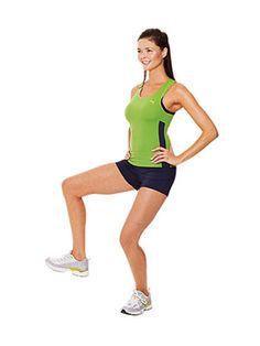 New inner and outer thigh exercises from R. Marcus Minier of the Sports Club/LA in New York City. Thigh Exercises, Thigh Workouts, Outer Thighs, Fitness Magazine, Sports Clubs, Knee Pain, How To Run Faster, Get Healthy, Physique