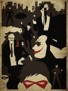 Evening in Gotham