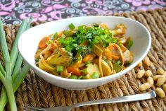 Amazing Vegan food at the Coup in Calgary Peanut Satay Dragon Bowl Vegan Cookbook, Cookbook Recipes, Raw Food Recipes, Asian Recipes, Vegetarian Recipes, Ethnic Recipes, Gf Recipes, Vegan Meals, Delicious Recipes