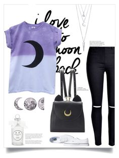 """""""Purple Moon"""" by indiemess1 ❤ liked on Polyvore featuring Seletti, WithChic, BERRICLE and Vans"""