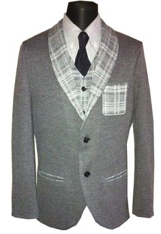 Knitted jacket. Wool 50% and acryl 50%. Size 48 (M-L). Price: 90$ or 2900 rubles.