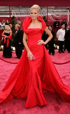 Christian Dior red dress