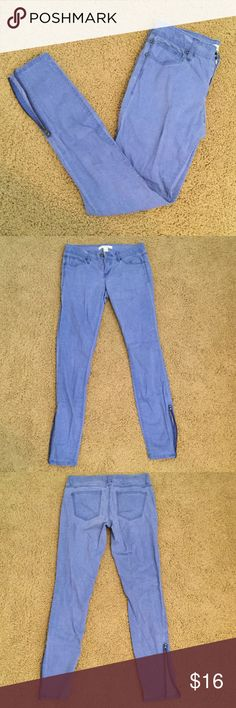 Life in Progress Jeans These jeans are very comfy and have really stylish zippers on both ankles! Willing to trade depending on the item! Life in Progress Jeans Skinny