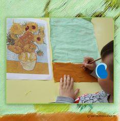 """""""Faccio sempre ciò che non so fare, per imparare come va fatto"""". Vincent van Gogh I bambini di 4 e 5 anni si sono approcciati alle opere d'arte di Vincent van Gogh. Crediamo fermamente che i bambini siano ricercatori e costruttori di immagini. Le immagini servono a costruirne altre: passando per sensazioni, sentimenti, rapporti, idee. #vangogh #pittura #scuoladellinfanzia #scuolafavetti Vincent Van Gogh, Opera, Opera House"""