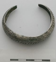 Viking age / Silver bracelet