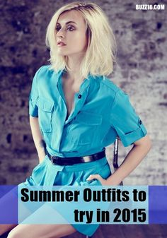 Latest 50 Summer Outfits to try in 2015 | http://buzz16.com/summer-outfits-to-try-in-2015/