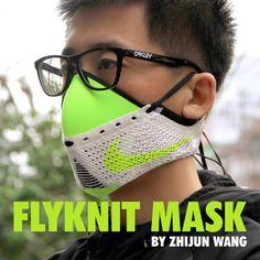 Nike Flyknit Mask 2nd Edition by Zhijun Wang