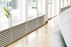 Elementskydd Yoko Radiator Cover, Feng Shui, Animal Print Rug, House Design, Living Room, Yoko, Construction, Decor Ideas, Home Decor
