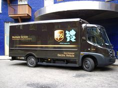 Modec electric delivery van at...