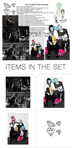 """""""DAY1 A photo of your favourite band: Breathe Carolina!"""" by dolphinloverd ❤ liked on Polyvore featuring art"""