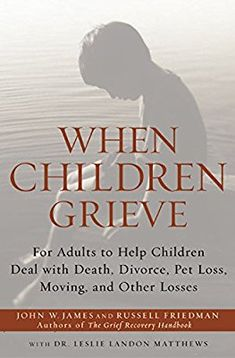 When Children Grieve: For Adults to Help Children Deal with Death, Divorce, Pet Loss, Moving, and Other Losses: John W. James, Russell Friedman, Leslie Matthews: 9780060084295: Amazon.com: Books