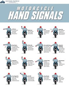 12 Motorcycle Hand Signals You Should Know