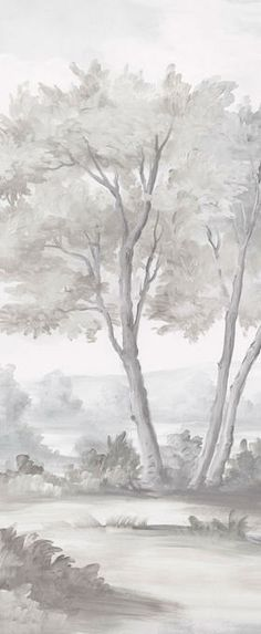 Calmsden - Grisaille  Susan Harter murals from massachusetts