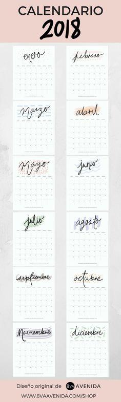 Calendarios 2018 + Nueva tienda en línea