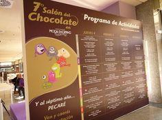 Programa del VII Salón del Chocolate de Madrid en Moda Shopping. @Chocoadictos.