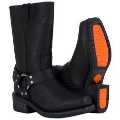 harley davidson women | Hustin Waterproof Boots - Harley Davidson Womens, 86222-10