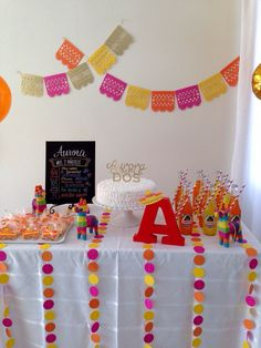 #ShareACokeContest Mexican Fiesta for a 2nd birthday party