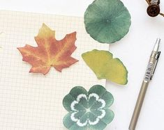 Leaves v3 Post IT Notes Sticky Memo