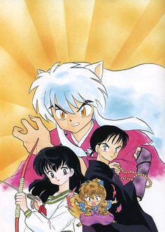 Miroku, Kagome Higurashi, Kirara, Inuyasha Love, Anime Rules, Anime One, Cute Anime Pics, Manga Covers, Bow Wow