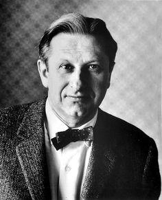 Portrait of Studs Terkel, 1950's.