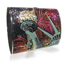 Judith Leiber purse...