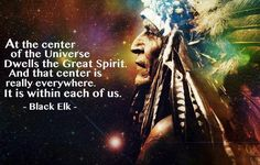 At the center of the universe...