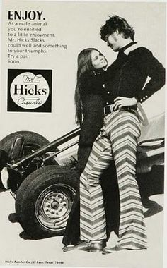 crazy vintage pants from Hicks