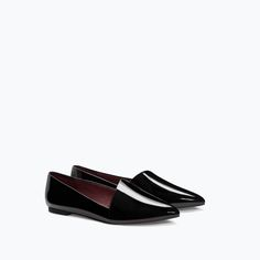 ZARA - TRF - ASYMMETRICAL CUT SLIP-ON