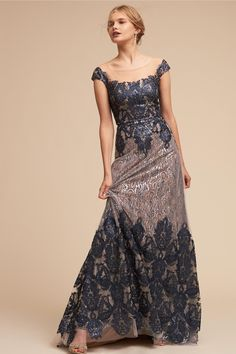 BHLDN's Keller Dress in Navy