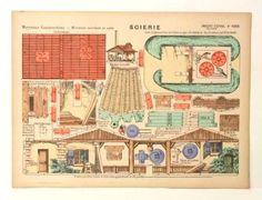 Pellerin Imagerie D'Epinal 1006 M. Construct Scierie Mecanisme marchant au sable #PellerinImagerieDEpinal