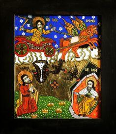 Religious Images, Religious Art, Kristen Konst, Orthodox Icons, Folk, Angels, Polish, Christian, Glass