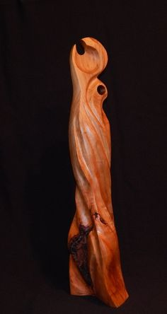 Black Cherry wood, 61 x cm kilos This piece is made from North American Black Cherry and its name conjures up current and historical. Ronald Sullivan, Wood Sculpture, Sculptures, Black Cherry Wood, Twist And Shout, The Conjuring, The Struts, Statue, Link