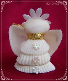 shell christmas crafts | Shell Craft Ideas
