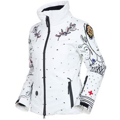 Rossignol JCC Heidi Print Insulated Ski Jacket (Women's) | Peter Glenn
