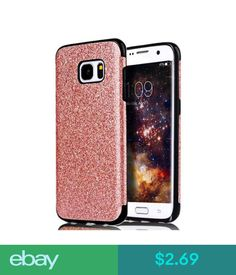 35110f85d81  2.69 - Matte Tpu Leather Glitter Sparkly Protect Case Cover For Samsung  Galaxy S7 Edge