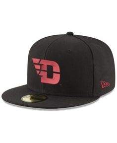 5946126a1b3 New Era Dayton Flyers Shadow 59FIFTY Fitted Cap - Black Red 7 5 8