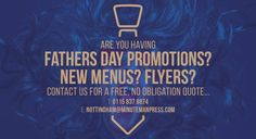 #fathersday #promotions #print #design #menus #Flyers #minutemanpres #Nottingham #free #quote #tie #Navy #Gold #logo #flyer # graphicdesign #quotes #printanddesign #retro #crazy #fun #new